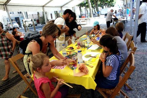 Ateliers enfants peinture