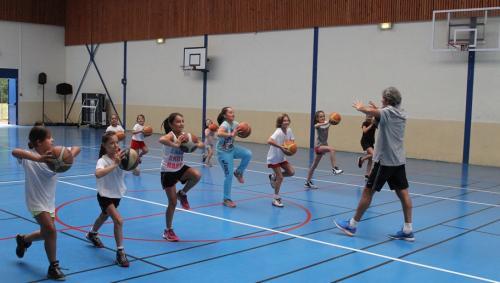 Ateliers enfants basket
